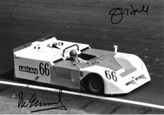 Vic Elford – Chaparral 2J – Autographed by Vic Elford and Jim Hall