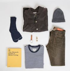 b735fb4f Men's Outfit Grid - Fall denim, striped tee #mensoutfitsfall Men's Apparel,  Mens Clothing