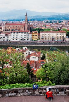 Italy - Florence: Florence Sketch, province of Florence Tuscany Italy