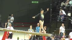 Gymnast Veronika Cenkova beam routine Gymnastics, Routine, Wrestling, Music, Fitness, Lucha Libre, Musica, Musik, Muziek
