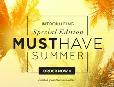 http://popsu.gr/rjqa Popsugar Must Have Box Special Edition Summer Available! Hurry!! ***USE MY LINK, AND I'LL SEND YOU A DELUXE SAMPLE BEAUTY ITEM*** COMMENT BELOW LETTING ME KNOW YOU USED IT. THANKS!