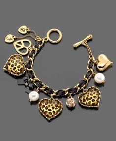 Betsey Johnson Bracelet - Macy's  she is now my favorite jewelery designer :)