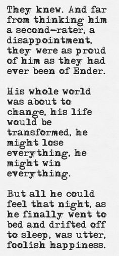 Peter Wiggin // Shadow of the Hegemon // Orson Scott Card Ender's Game Quotes, Book Quotes, Orson Scott Card, Unspoken Words, Losing Everything, Verse, Audio Books, Humor, Book Fandoms