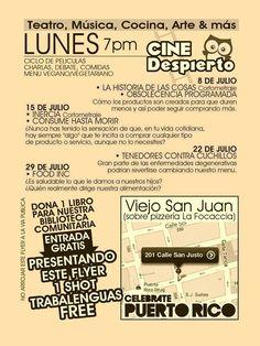 Cine Despierto @ Celebrate PuertoRico #sondeaquipr #cinedespierto #celebratepuertorico #viejosanjuan #cortometrajes