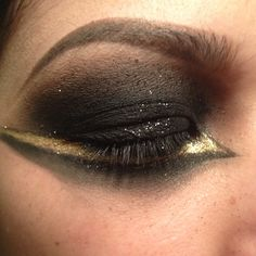 Hunger games inspired makeup