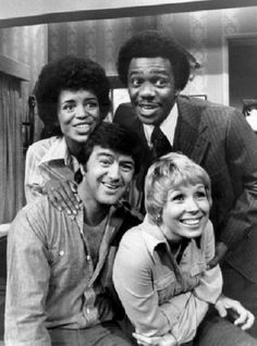 Love Thy Neighbor (1973) The cast included Janet MacLachlan as Jackie Bruce and also Harrison Page as Ferguson Bruce.