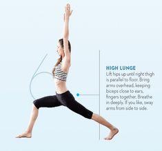 Tara-Stiles-yoga-workout-for-strength-high-lunge-pose