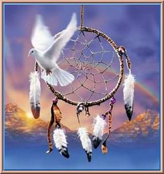 Native American Dreamcatcher.