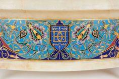 Ormolu Cloisonne Champleve Enamel Onyx Jardiniere Centerpiece, F. Planter Pots, Centerpieces, Canning, Centerpiece, Table Centerpieces, Home Canning, Center Pieces, Centre Pieces, Centerpiece Ideas