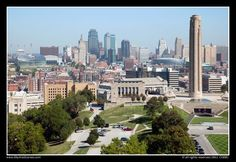 Kansas City Skyline. Lived here for a while.