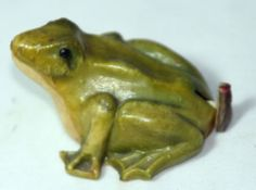 RARE Antique Frog w Fly on Butt Tape Measure Celluloid Figural Novelty | eBay