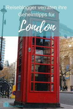 London ist immer eine Reise wert.
