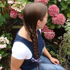 Miriam's Vlecht Lessen (Miriam's braiding instructions): 6 plukken vlecht // 6 strand braid
