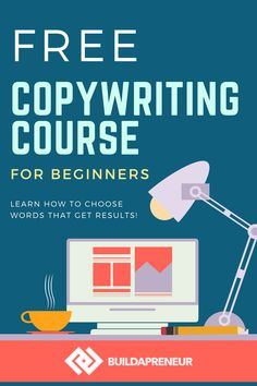 The BEST copywriting course for beginner copywriters who are just learning how to start copywriting. Great copywriting tips, copywriting examples and copywriting inspiration! Check out all the FREE courses on the FREE page of our blog! Email Marketing Strategy, Marketing Software, Content Marketing, Affiliate Marketing, Make Money Blogging, How To Make Money, Earn Money, Free Courses, Online Courses