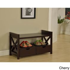 Entryway Storage Bench - Overstock™ Shopping - Great Deals on Benches