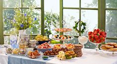 Celebrate Swedish Midsummer and uncover your table with matching dishes from IKEA.  Here, among other things done: Knäckebröd FLERKORN Mehrkornknäckebrot, Swedish OST Praest hard cheese, SILL INLAGD herring with onions and carrots and LAX Gravad Marinated Salmon