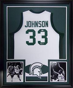 Magic Johnson Framed Jersey Signed JSA COA Autographed Michigan State Lakers Mister Mancave http://www.amazon.com/dp/B012EUZ3UK/ref=cm_sw_r_pi_dp_Piurwb0804MMC