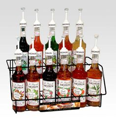 Monin Syrups Each Bottle Of Syrup Is 750 Milliliters Which Fluid Ounces One And A Half S Appropriate For An 8 Ounce Hot Beverage