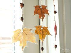 lehtikoriste, syyslehdet, askartelu, syyssisustus Fall Crafts, Colours, Autumn, Fun, Pre School, Teaching, Image, Autumn Crafts, Fall