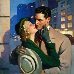 Andrew Loomis, The Ladies' Home Journal, August 1940