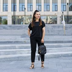 Fashion 2019 New Moda Style - fashion All Black, Normcore, Outfit, Casual, Style, Fashion, All Black Everything, Swag, Moda