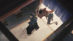 The Fluid Animation of Samurai Champloo animated GIF