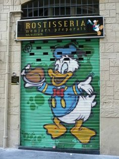 Donald Duck - Barcelona