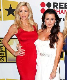 Camille Grammer & Kyle Richards - Real Housewives of BH's