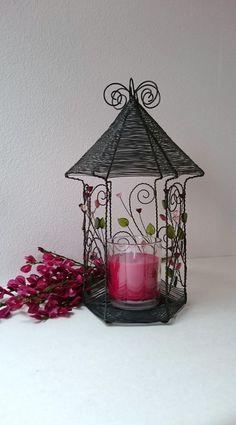 Lucerna / Zboží prodejce Nanele | Fler.cz Candle Holders, Candles, Bending, Crafts, Wire Wrapping, Art, Art Background, Manualidades, Kunst