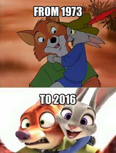 """From """"Robin Hood"""" to """"Zootopia"""""""