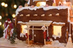 NEW MEXICO STYLE ADOBE GINGERBREAD HOUSE