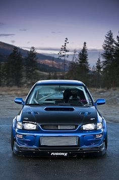 Subaru Impreza, I would love to have these flares in my wagon someday.