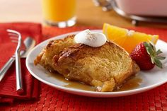 Egg Nog Upside Down French Toast - AE Dairy Recipes