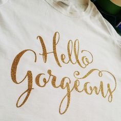 Love this this cool t-shirt using my Cantoni Pro hand lettered font made by Rika King Designs. The font is available at www.debisementelli.com