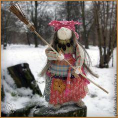 Народные куклы ручной работы. Ярмарка Мастеров - ручная работа Баба Яга. Handmade.