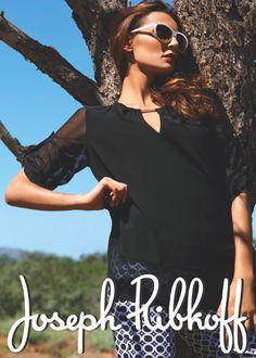 Top Joseph Ribkoff 151168 + Pants 15186now at Indulge Boutique Eagan MN 651.454.3900 Spring Summer 2015, Spring Time, Spring Summer Fashion, Joseph