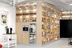 Food Lab Studio - Multifuncional space in Warsaw! #cooking #design #Lange #vespa #cook #kitchen #event #warsaw #library