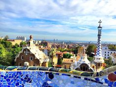 #Parkguell #Barcelona #Travel