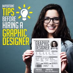 Important Tips to Consider Before Hiring a Graphic Designer #freelancer #graphicdesigner #tips #hiring #portfolio