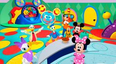 Mickey Mouse Clubhouse Full Episodes Goofy's Silly Slide game