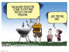 fourth of july cartoon pictures