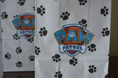 Set of 10 Paw Patrol goodie bag paw patrol por HappyCraftyJoy
