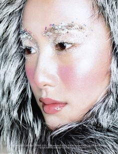 Count on Me - Model Shu Pei stars in the gorgeous 'Count on Me' Vogue China editorials. The eskimo-themed image series features furry wardrobe stylin...