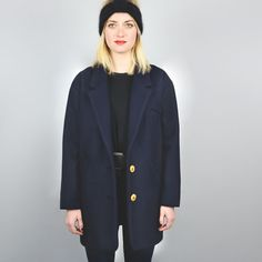 Buy the Gérard Coat sewing pattern from République du Chiffon. This loose-fitting boyfriend style coat has large lapels and three length options. Coat Pattern Sewing, Coat Patterns, Clothing Patterns, Sewing Patterns, Sewing Ideas, Boyfriend Coat, Boyfriend Style, Dress Making Patterns, Pattern Making