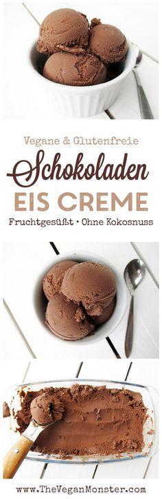 Vegane Glutenfreie Nussfreie Milchfreie Schokoladen Eiscreme Ohne Kristallzucker Ohne Kokosnuss Rezept