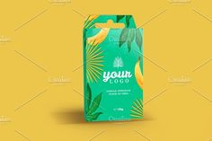 Hanging Box Mockup Graphics Box PSD mockup. You can edit the:- You can change color of box;- You can put your own design usin by catarina.pinto