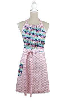 Candy dress apron Bubble Cute  #zastera #apron #kuchynskazastera #retro #dressapron #pinup #kitchen #madeinslovakia #kuchyna #cukraren #pecenie