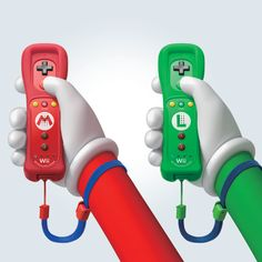 Wii Remote Plus with #Mario or #Luigi design in shops from 8/11. via: https://twitter.com/NintendoEurope
