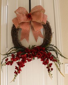 SALE Grapevine Wreath Fall Christmas Spring by HopesHeartGifts