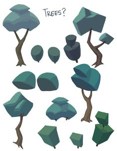 lowres lowpoly
